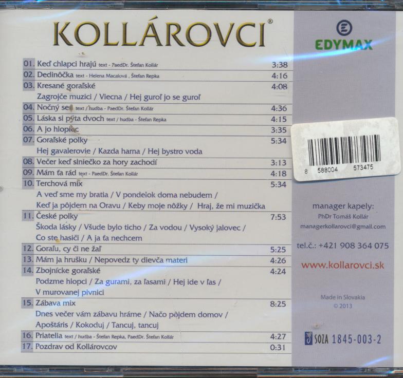 07 GORALU CY CI NE ZAL - supermusic.sk