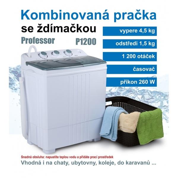 PROFESSOR MINI PRÁČKA P1200 - suprshop.cz