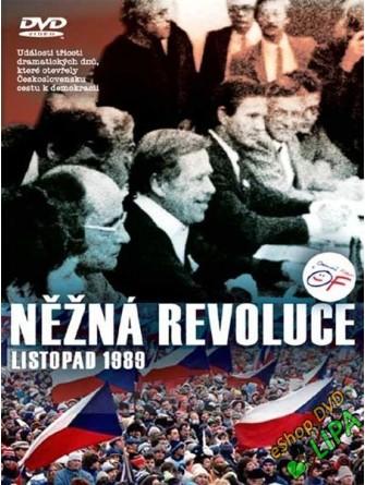 Něžná revoluce-listopad 1989 DVD - suprshop.cz