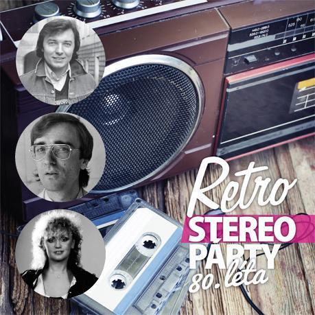 RETRO-STEREO PARTY 80.LETA - suprshop.cz