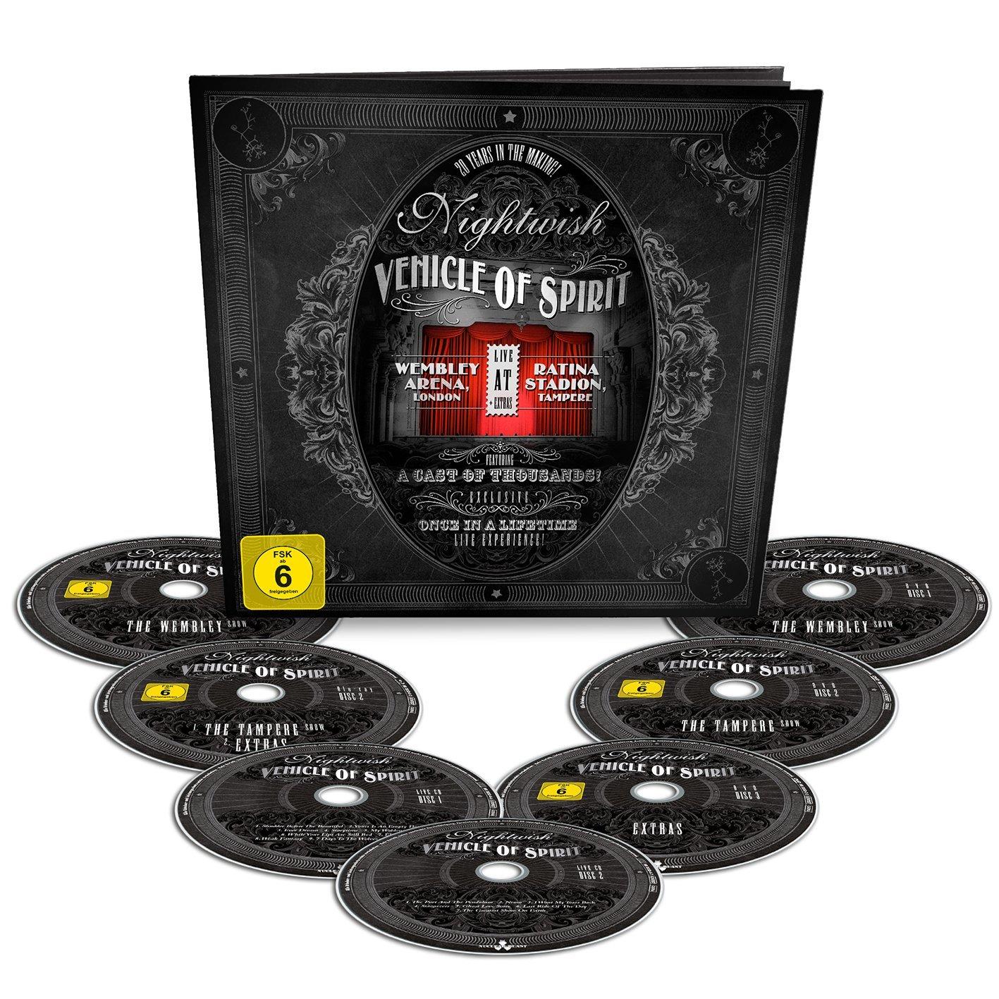 Bcd Nightwish - Vehicle Of Spirit Earbook Ltd.  2dvd+2brd+2cd ... 2a76d2803d2