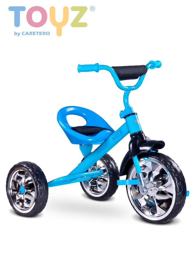 Dětská tříkolka Toyz York blue Modrá  - suprshop.cz