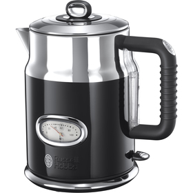 RUSSEL KETTLE L HOBBS 21671-70 RETRO CLASSIC | 1,7L | BLACK - supershop.sk