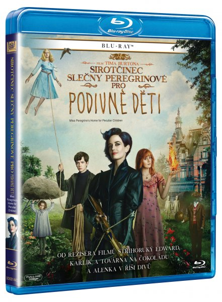 Sirotčinec slečny Peregrinové pro podivné děti / Miss Peregrine's Home for Peculiars - 2D (1disk) [BLURAY] - supershop.sk