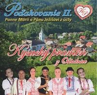 PODAKOVANIE II. PANNE MARII A PANU JEZISOVI Z UCTY - supermusic.sk