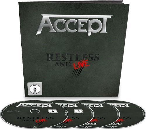 RESTLESS & LIVE -CD+DVD- - supermusic.sk