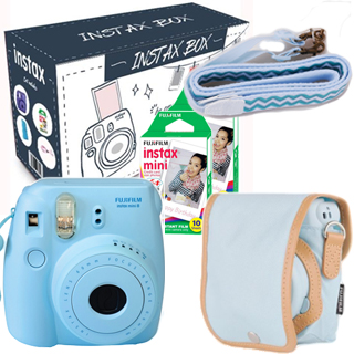 FUJIFILM INSTAX MINI 8 BIG BOX 2017 (BLUE) - suprshop.cz