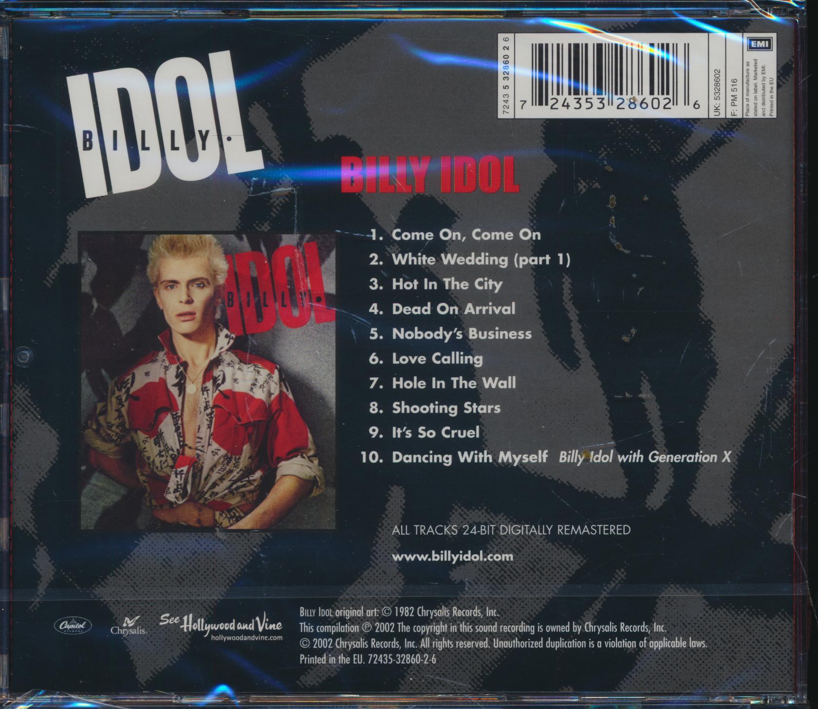 Cd Idol Billy - Billy Idol ☆ SUPERSHOP ☆ tvoj CD obchod 51fe160c5bf