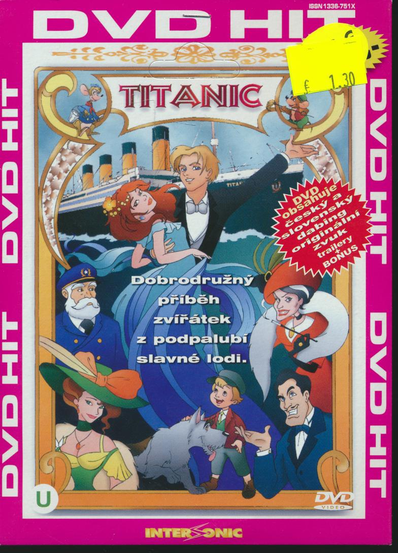 Titanic (Titanic: The Animated Movie) - supershop.sk