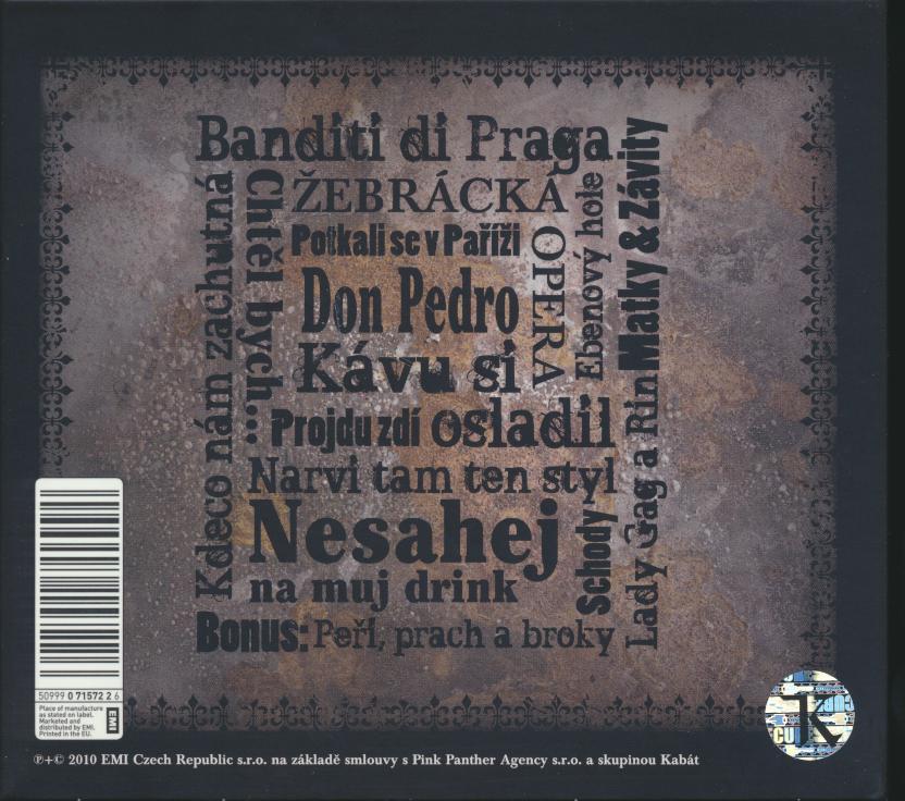 BANDITI DI PRAGA - supermusic.sk