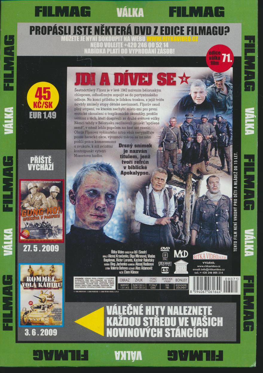 Jdi a dívej se 2 DVD (Idi i smotri) DVD - suprshop.cz