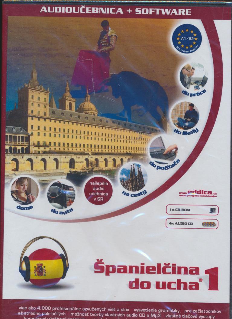 Španielčina do ucha 1 [SK] - supermusic.sk