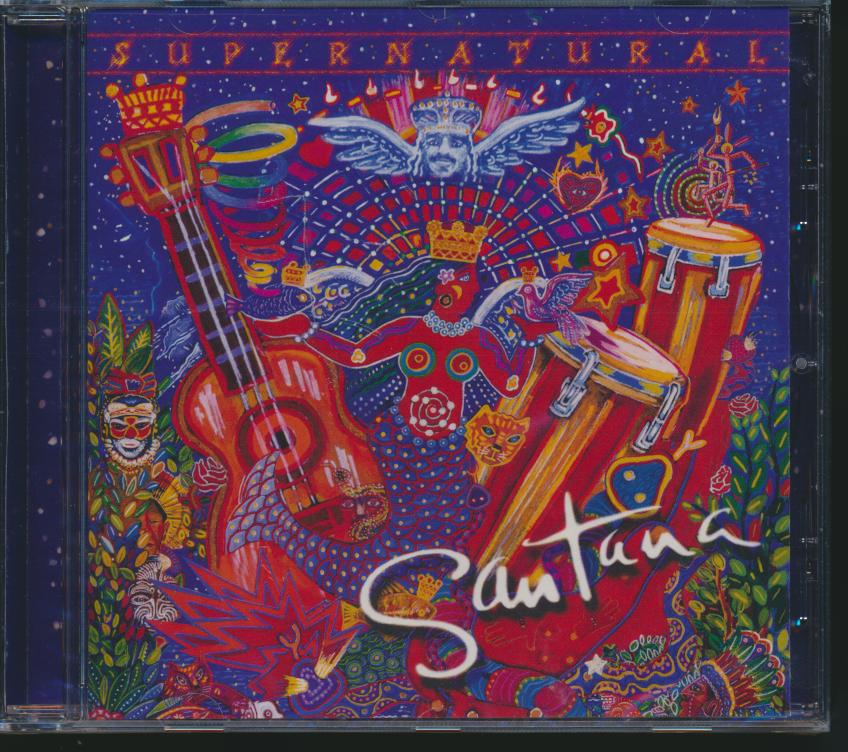 Cd Santana - Supernatural ☆ SUPERSHOP ☆ tvoj CD obchod f85da84e2f9