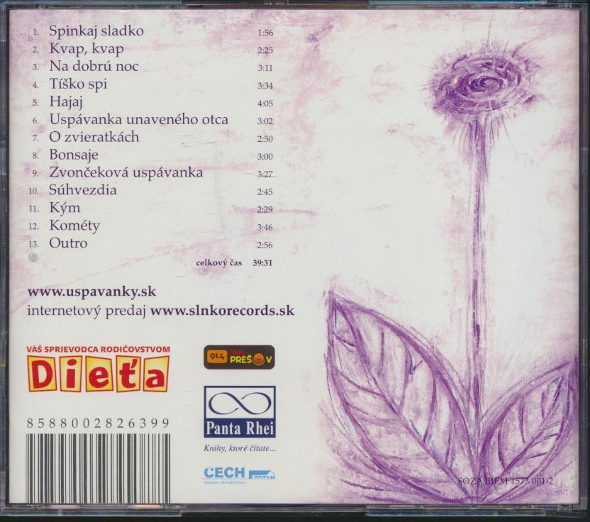 Uspávanky [SK] - supermusic.sk