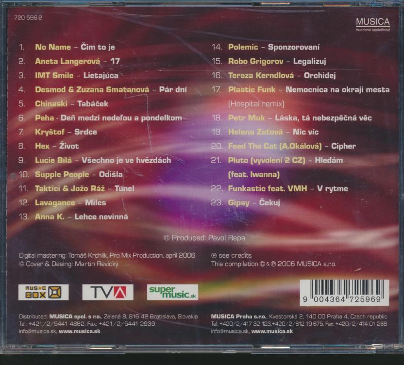 TOP FUN HITY 5 - supermusic.sk