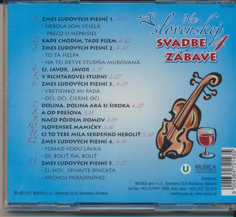 NA SLOVENSKEJ SVADBE A ZABAVE 4 - supermusic.sk