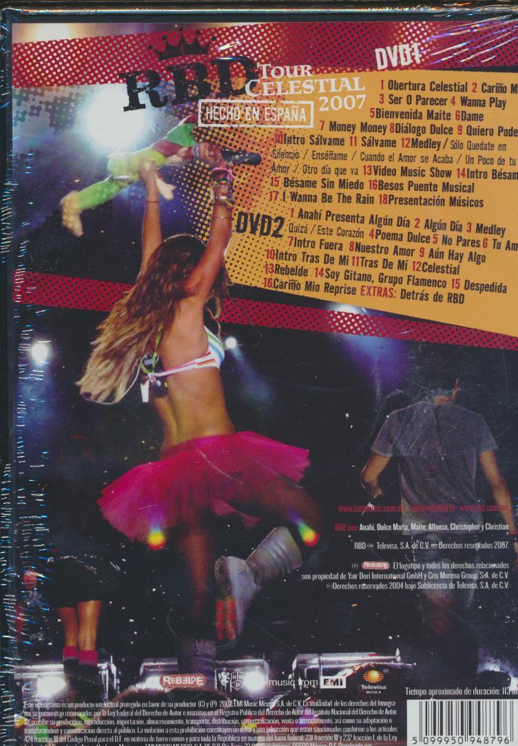 TOUR CELESTIAL 2007/HECHO EN ESPANA 2 - supermusic.sk