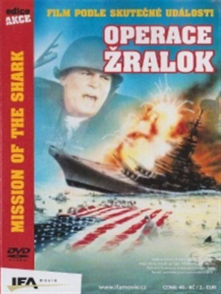 FILM OPERACE ŽRALOK (MISSION OF THE SHARK) DVD - supershop.sk