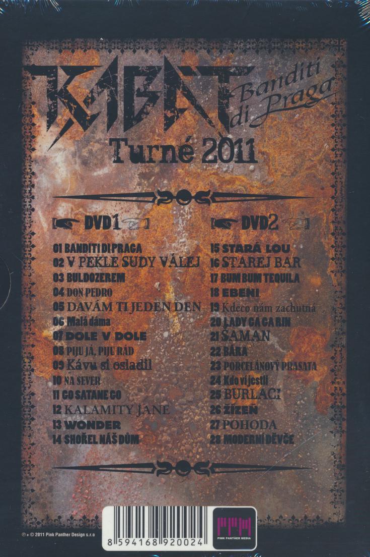 Dvd Kabat - Banditi Di Praga Turne 2011 ☆ SUPERSHOP ☆ tvoj obchod ... 76d7720d0e4