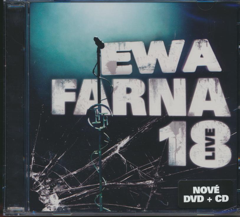 Dvd Farna Ewa - 18 Live ☆ SUPERSHOP ☆ tvoj obchod ☆ cd   dvd ... 86020c3a1b6