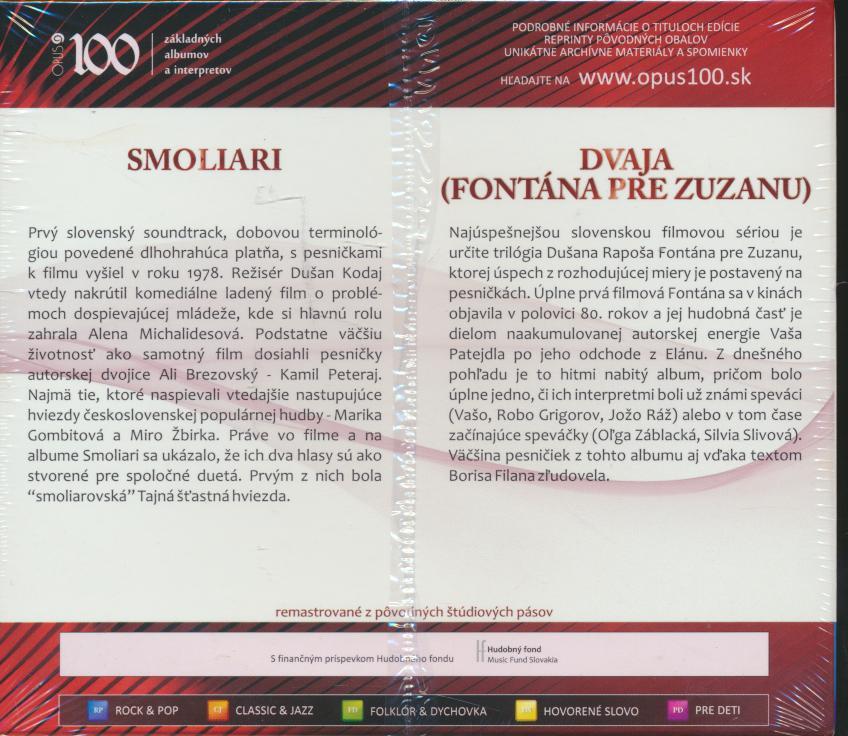 SMOLIARI / DVAJA (FONTANA PRE ZUZANU) (O - supershop.sk