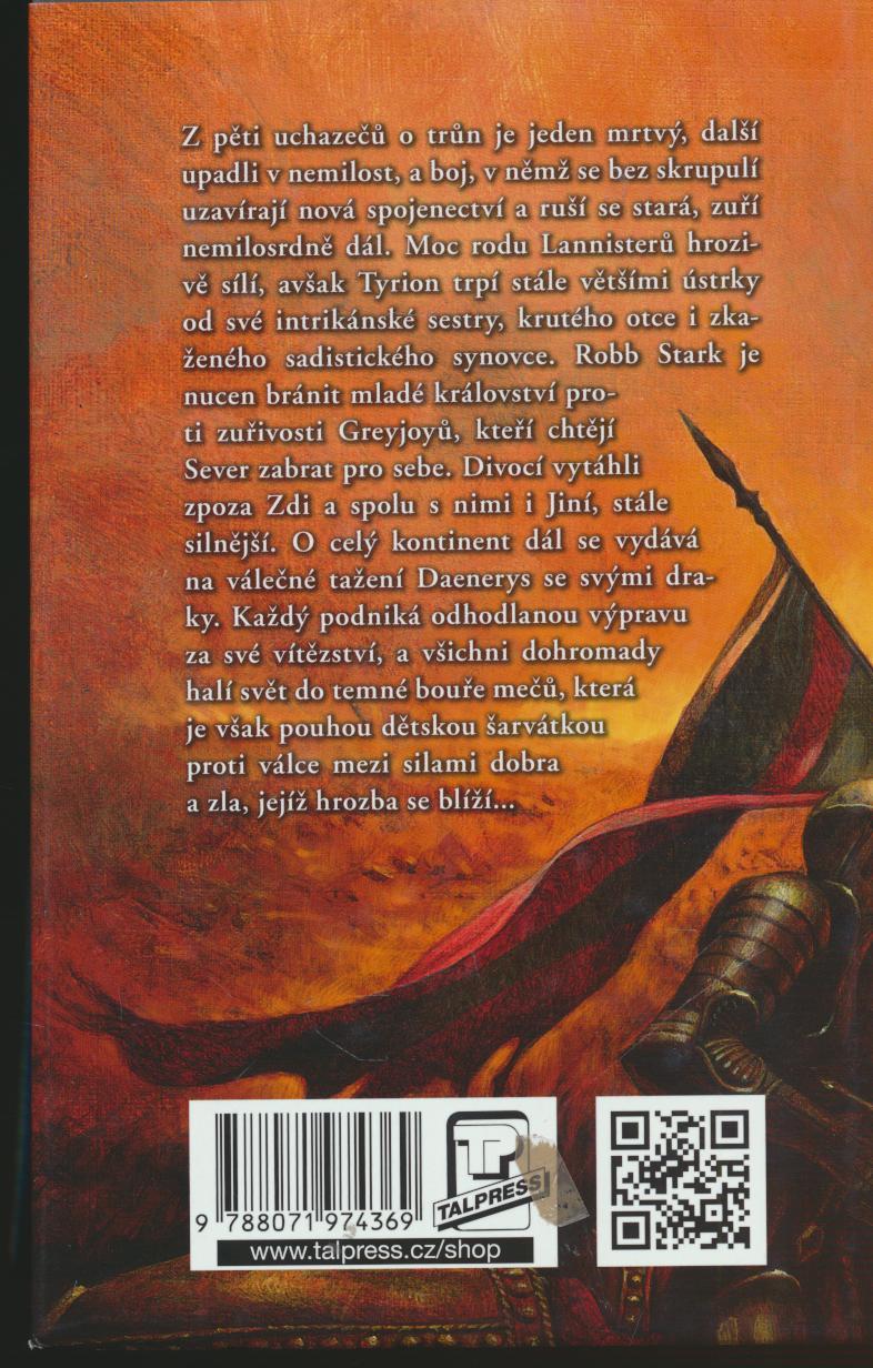 - Bouře mečů 1+2 - Píseň ledu a ohně - kniha třetí