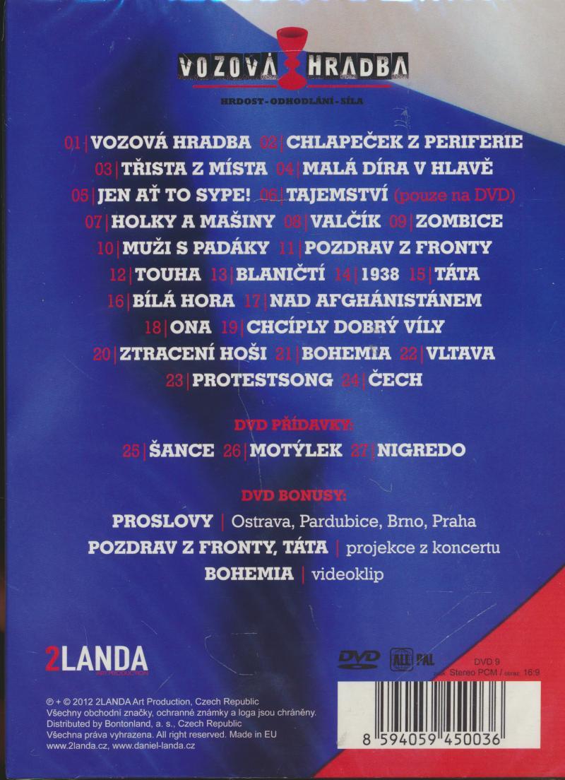 VOZOVA HRADBA TOUR 2011 - supershop.sk