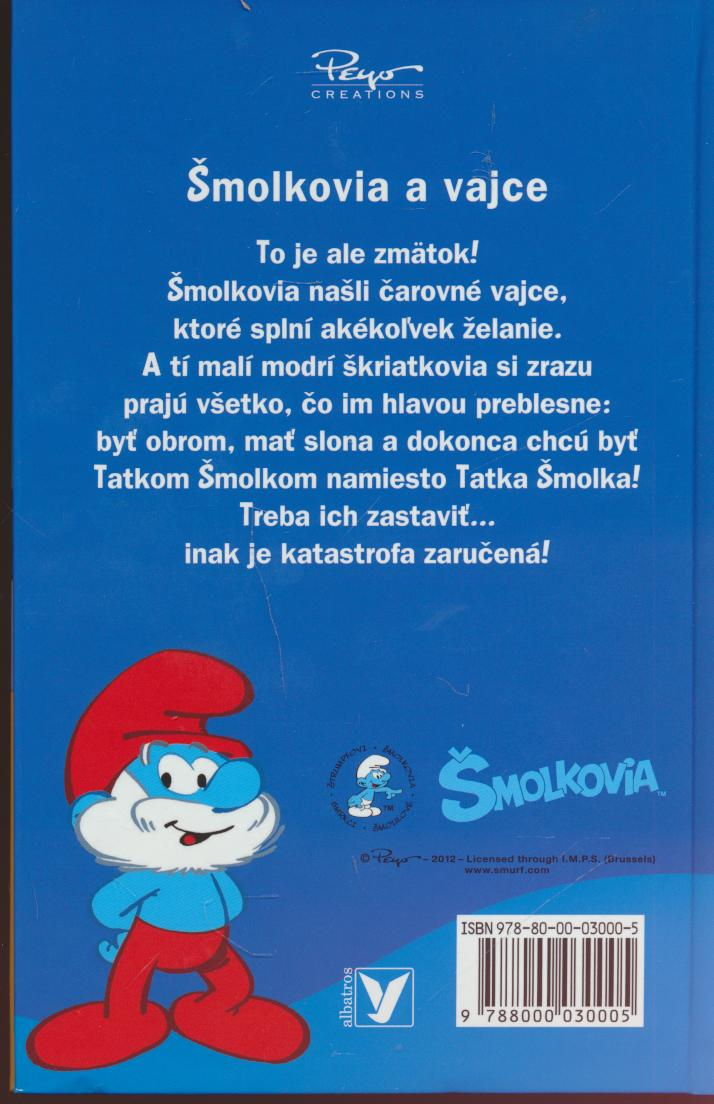 Šmolkovia a vajce - supershop.sk