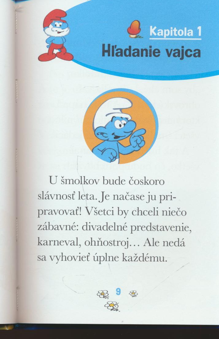 Šmolkovia a vajce - suprshop.cz