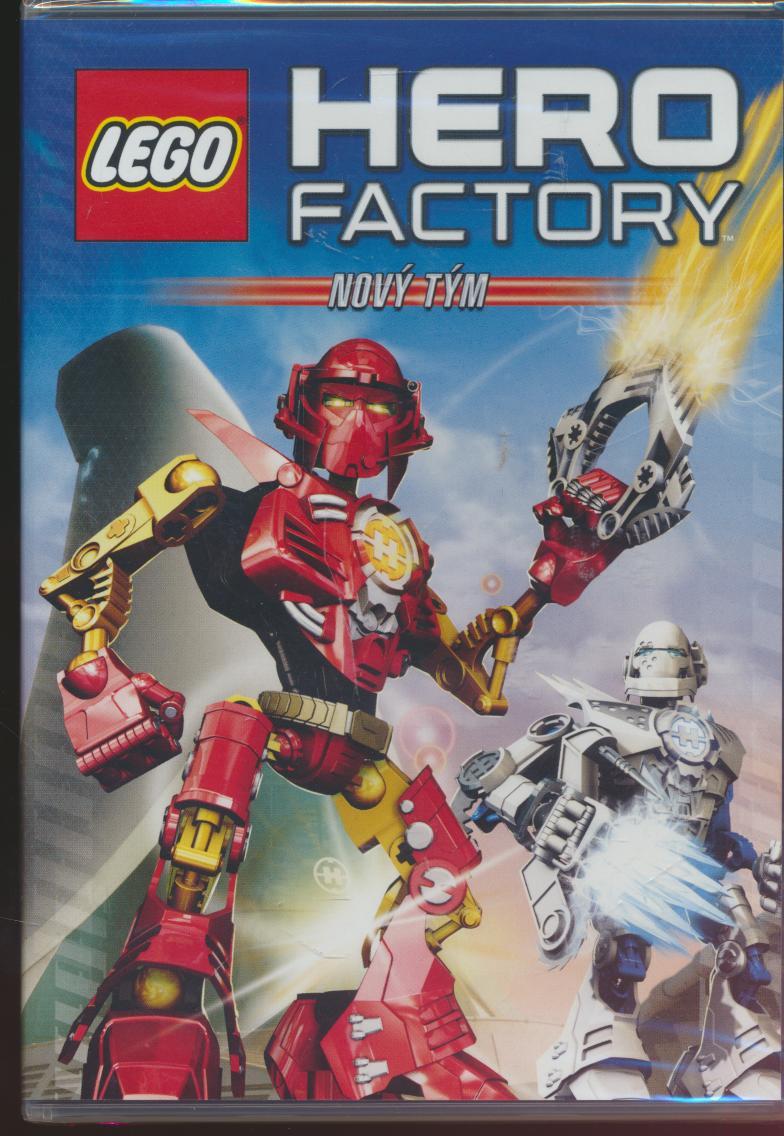 Lego Hero Factory: Nový tým [CZ dabing] - suprshop.cz