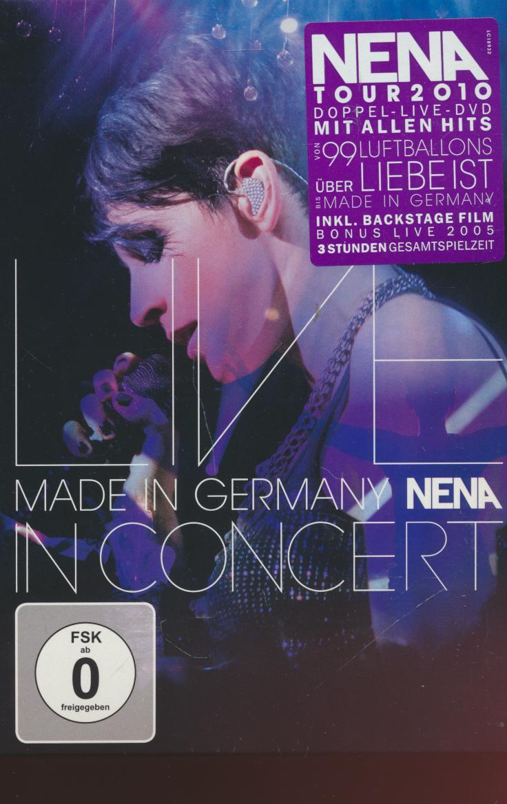 Dvd Nena - Made In Germany-live In ☆ SUPERSHOP ☆ tvoj obchod ☆ cd ... 638d0fccc8d