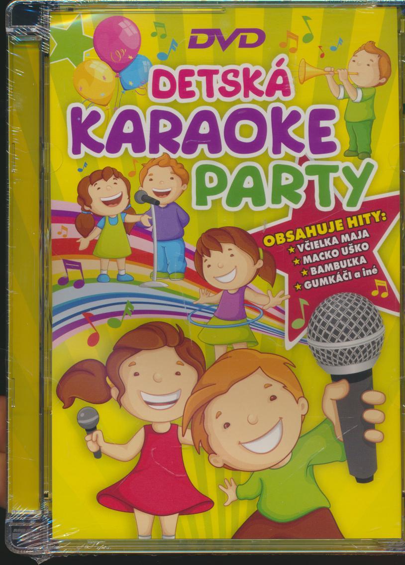Pesnicky pre deti - DETSKA KARAOKE PARTY /DVD DETSKE/ - supermusic.sk