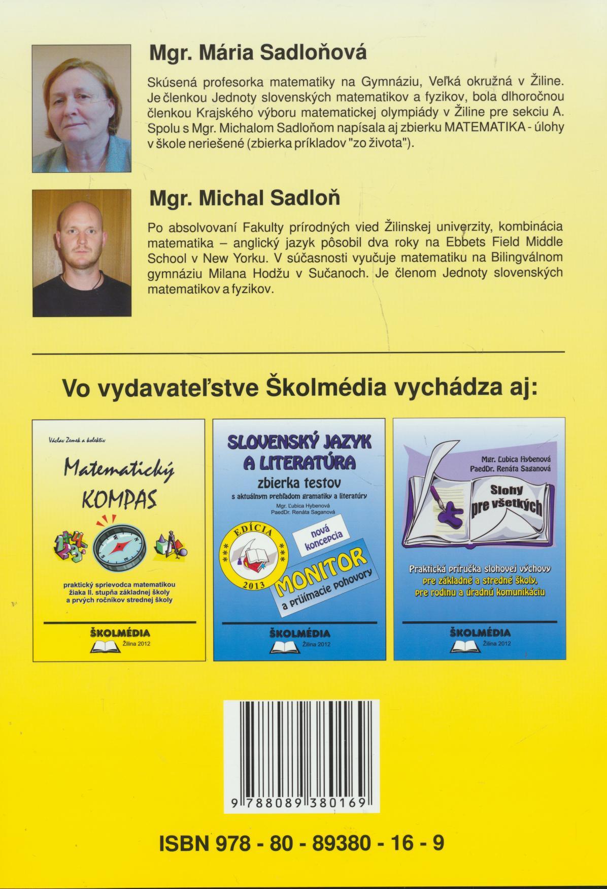 3d7f61f86 Matematika - Zbierka Príkladov A Testov (edícia 2013) ☆ SUPERSHOP ...
