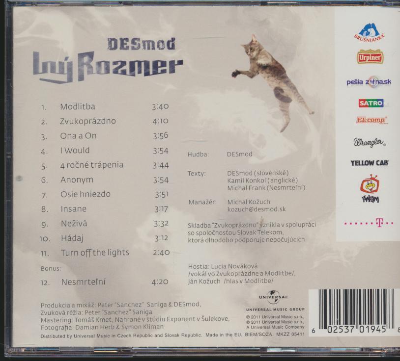 INY ROZMER /+1 TR. - supershop.sk