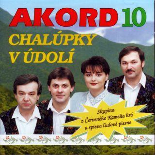 CD AKORD - 10 CHALUPKY V UDOLI