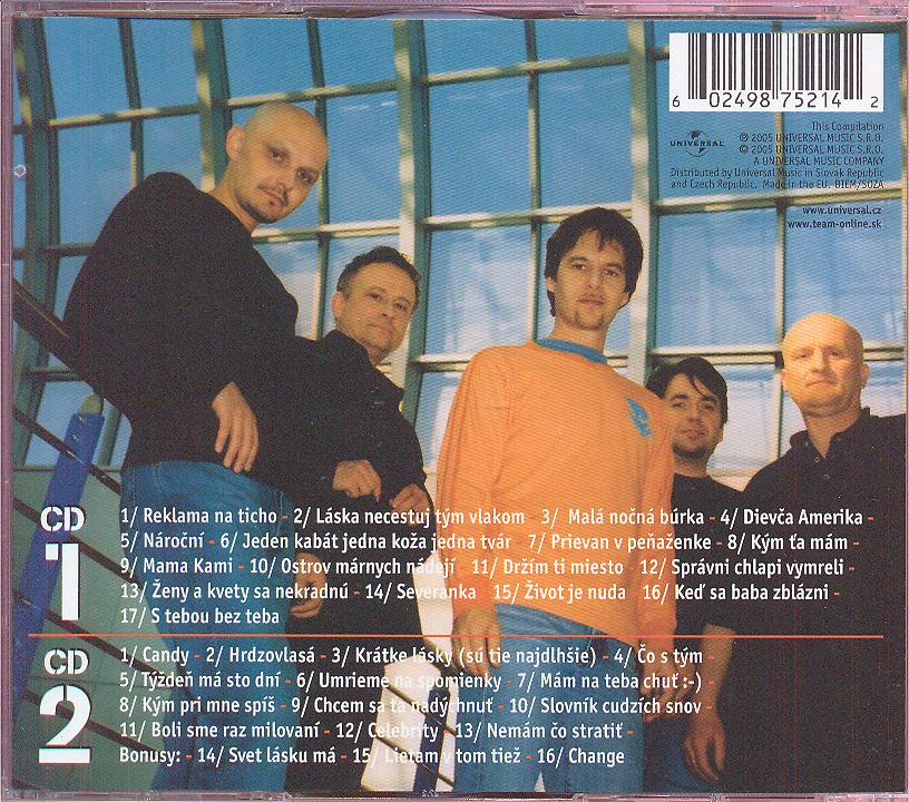 BEST OF 1988-2005 - supermusic.sk