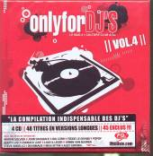 VARIOUS  - 4xCD ONLY FOR DJ'S 04