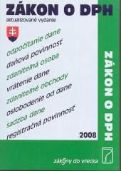 Zákon o dani z pridanej hodnoty r. 2008 - supershop.sk