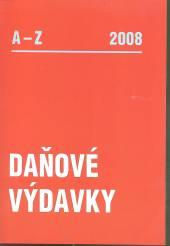 Daňové výdavky 2008 A-Z - supershop.sk