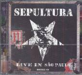 SEPULTURA  - 2xCD LIVE IN SAO PAULO-REISSUE