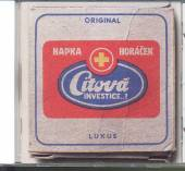 HAPKA & HORACEK  - CD CITOVA INVESTICE
