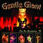 GENTLE GIANT  - CD LIVE IN STOCKHOLM 75