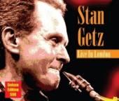 GETZ STAN  - CD LIVE IN LONDON (DLX)