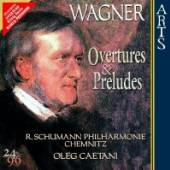WAGNER RICHARD  - CD OVERTURES & PRELUDES