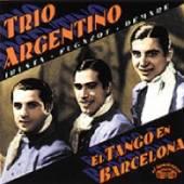 TRIO ARGENTINO  - CD EL TANGO EN BARCELONA