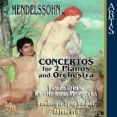 MENDELSSOHN BARTHOLDY FELIX  - CD CONCERTOS FOR 2 PIANOS &