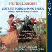 MENDELSSOHN BARTHOLDY FELIX  - CD COMPLETE WORKS FOR..