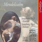 MENDELSSOHN FELIX BARTHOLDY  - CD SYMPHONIEN 3 + 4 / MAAG