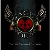 ANGEL HOUSE  - CD GUN, THE LOVE AND THE..
