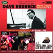 BRUBECK DAVE  - 2xCD THREE CLASSICAL ALBUMS